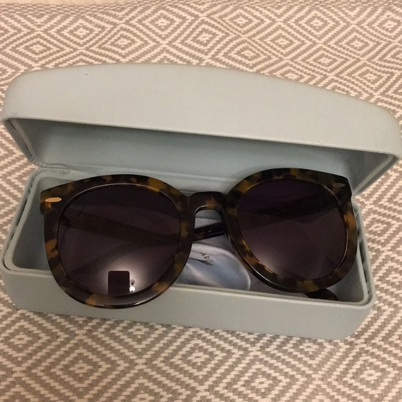 483b765cf Karen Walker Accessories - KAREN WALKER SUPER DUPER STRENGTH TORTOISE 👓
